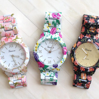 Garden Beauty Bracelet Watch