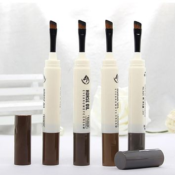 Waterproof Eye Brow Fine Eyebrow Enhancer & Brush