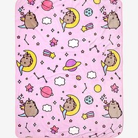 Pusheen Constellation Throw Blanket