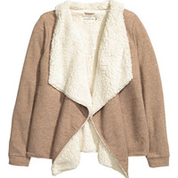 H&M Pile-lined Cardigan $34.99
