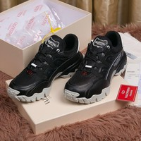 Valentino Men Fashion Boots fashionable Casual leather Breathable Sneakers Running Shoes Sneakers