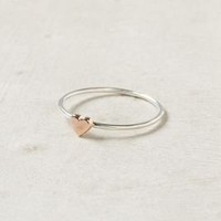 Wee Heart Ring, Rose Gold - Anthropologie.com