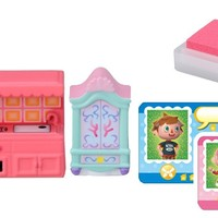 Takaratomy Animal Crossing New Leaf Girl and The Furniture Figure Stamp Set