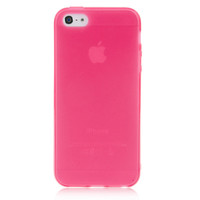 Pink Solid Color Case For iPhone 5 & 5S