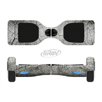 The Aged Cracked Tree Stump Core Full Body Skin Set for the Smart Drifting SuperCharged Transportation iiRov