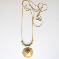 NEW Polyhedron necklace
