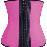 Gym Work Out Waist Trainers Hot Pink Xl