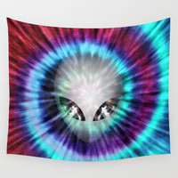 The Truth Is Out There Wall Tapestry by Octavia Soldani