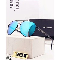 D&G Dolce & Gabbana trend polarized simple classic outdoor fishing driving sunglasses #2