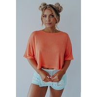 Better With You Top: Orange