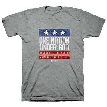 Kerusso One Nation Under God USA Patriotic 2021 T-Shirt