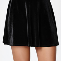 LA Hearts Velvet Swing Skirt at PacSun.com