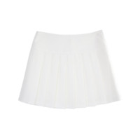 Basic Pleat Mini Skirt