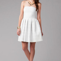 BELLAIRE STRAPLESS DRESS