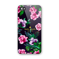 New Rare Kate Spade Beauty Pink Floral Best Hard case iPhone 6 6s 7 (Plus)