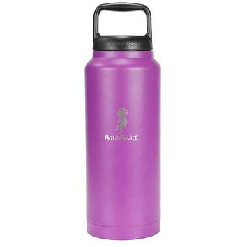 Case of [16] 18 oz Stainless Steel Vacuum Insulated Water Bottle with Spout - Blue