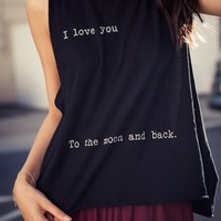KATE TO THE MOON AND BACK TANK