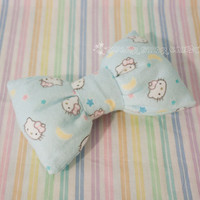 """Large Pillowy """"Hello Cosmos"""" Limited 2way Bow"""