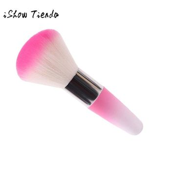 Hot Selling  Legal Brush Remove Dust Powder For Acrylic Nails Nail And Nail Art Dust Clean New  Make Up Brush Tools  Maquillage