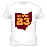 Youth Forgiven Lebron James Cleveland Cavaliers T-Shirt