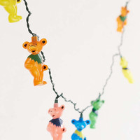 Grateful Dead Dancing Bear String Lights | Urban Outfitters