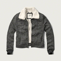 Sherpa Lined Classic Jacket