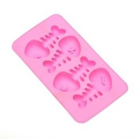 L-Zone Cute Fish Freeze Shaped Ice-Cube Tray(Color may varies)