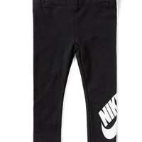 Nike Little Girls 2T-6X Logo Leggings | Dillards