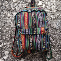 Big Boho Tribal Backpack Hobo Aztec Ethnic Hippies Ethnic Styles Hobo Tapestry Bags Hipster Native Pattern Beach Bohemian For School Unisex
