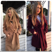 Winter Women's Fashion Warm Coat [9594699023]