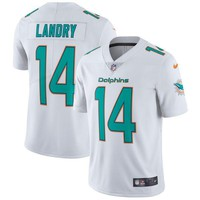 Men's Miami Dolphins Jarvis Landry Nike White Vapor Untouchable Limited Player Jersey