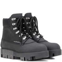 Telde leather ankle boots