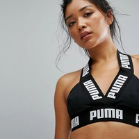 Puma Exclusive To Asos Strap Active Crop Top at asos.com