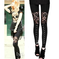 Punk Gothic Rock Leggings
