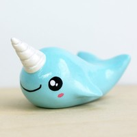 Collectible Narwhal Figurine