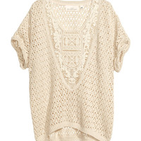 Pattern-knit Top - from H&M