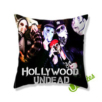 Hollywood Undead Desperate Measures Rock Band Square Pillow Cover