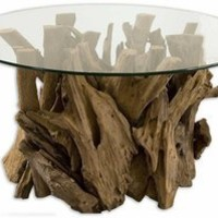 Uttermost 25519 - Driftwood Cocktail Table - Furniture - Living Room Furniture - Home Decor
