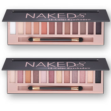 2018 Branded Cosmetic Makeup Shimmer Matte Naked Palette Make Up Colors Pigment Eyeshadow Palette Sombras Nudes Matte Eye Shadow