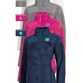 CHAMPION PRODUCTS : University of Notre Dame Women's Absolute Jacket : Hammes Notre Dame Bookstore : www.nd.bkstr.com