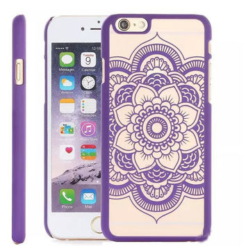 Colorful Palace Flowers Vintage Style phone cases For iphone 6
