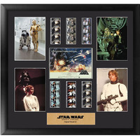 Star Wars A New Hope Montage Series 2 Framed Film Cell