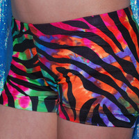 Crazy Zebra Gymnastic Shorts or Dance and Cheer by Minihearts
