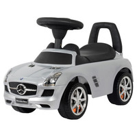 You should see this Mercedes SLS Push Car in Silver on Daily Sales!