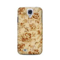 P2180 Flower Floral Vintage Pattern Case For Samsung Galaxy S4