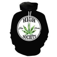 3D Hemp Leaf Hoodies 2018 Men's Clothing Autumn Hoodie Streetwear Tops Hip Hop Sweatshirt Casual Long Sleeve Tracksuit Women Top