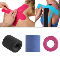 5cm*5m Therapeutic Protective Tape Sports Physio Muscles Care Wrap Bandage Strapping sprains & strains to limit swelling
