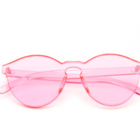 Clear Candy Sunglasses