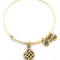 Women's Alex and Ani 'Endless Knot' Expandable Wire Bangle