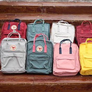 Fjallraven Kanken Durable Backpack Unisex Lovers' School Travel Bag [2974244209]